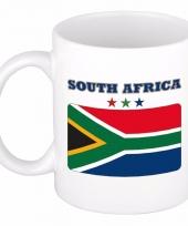Zuid afrikaanse vlag koffiebeker 300 ml