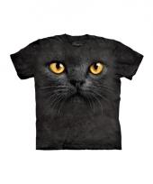 Zwart katten shirt the mountain