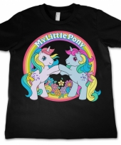 Zwart-shirt my little pony voor kids