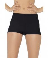 Zwarte cancan hotpants voor dames