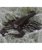 Zwarte decoratie schorpioenen 20 cm