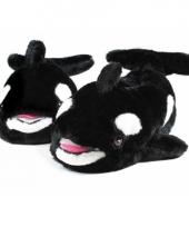 Zwarte dieren sloffen orka