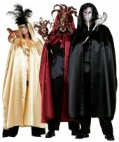 Zwarte duivel mantel voor volwassenen