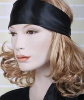 Zwarte hoofd sjaal voor dames