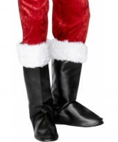 Zwarte kerstman laars hoezen