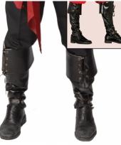Zwarte laarshoezen musketiers