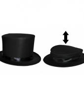 Zwarte magische hoed voor kids