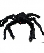 Zwarte nep spin 40 cm