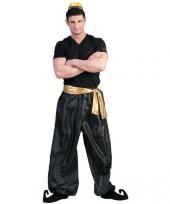 Zwarte oosterse broek voor heren