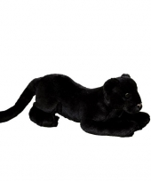 Zwarte pluche panter 25 cm