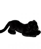 Zwarte pluche panter 35 cm
