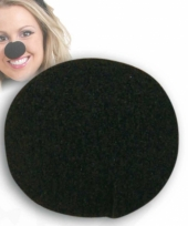 Zwarte verkleed neus