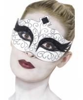 Zwarte zwaan oogmasker