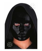 Zwartkleurig masker
