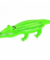 Zwembad opblaas krokodil 168 cm